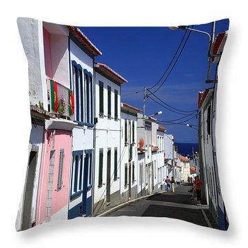 Maia - Azores Islands Throw Pillow by Gaspar Avila