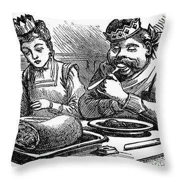 Mother Goose Throw Pillow by Granger