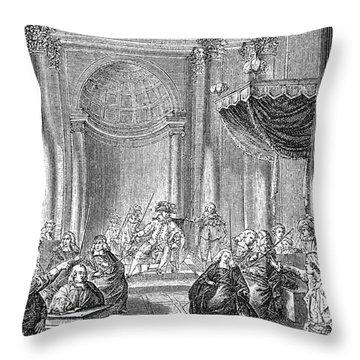 Pierre De Beaumarchais Throw Pillow by Granger
