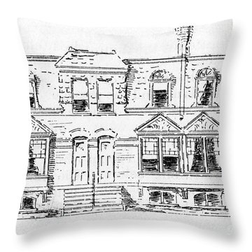 Pullman, Chicago Throw Pillow by Granger