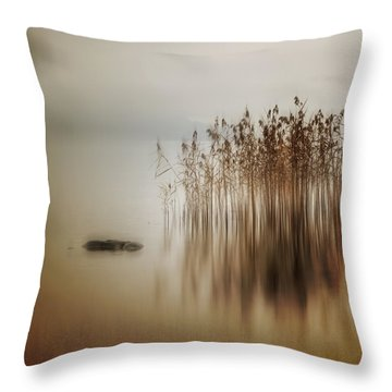 Reed Throw Pillow by Joana Kruse