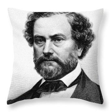 Samuel Colt (1814-1862) Throw Pillow by Granger