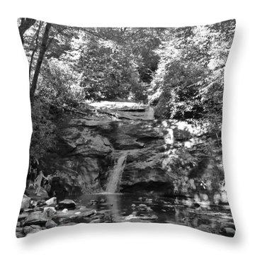 Set Rock Creek Falls Throw Pillow