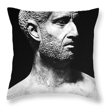 Terence (186?-159 B.c.) Throw Pillow by Granger