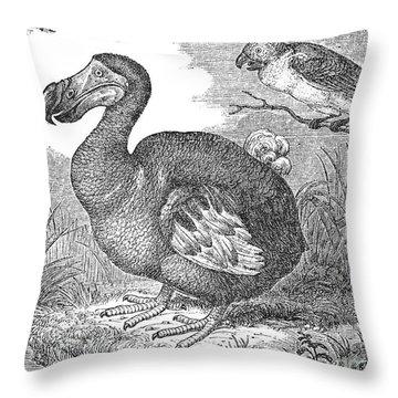 The Mauritius Dodo Throw Pillow by Granger