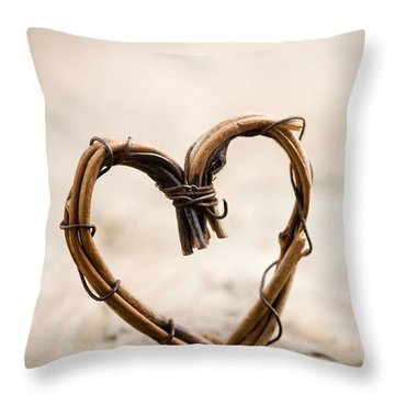 Valentine Heart Throw Pillow