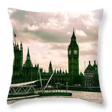 Westminster Throw Pillow by Dawn OConnor