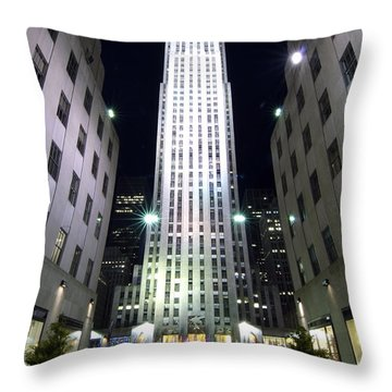 30 Rock Throw Pillow