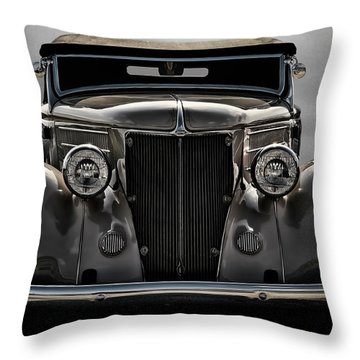'36 Ford Convertible Coupe Throw Pillow by Douglas Pittman