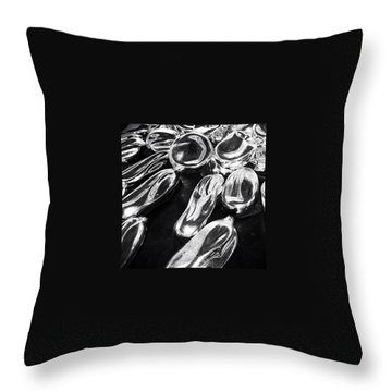 Drops Throw Pillows