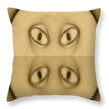 Art Abstract Throw Pillow by Odon Czintos