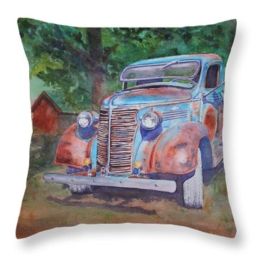 '38 Chevy Throw Pillow