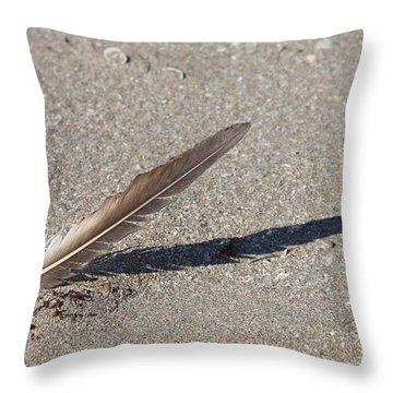 4-25 P M Throw Pillow by Lynda Dawson-Youngclaus
