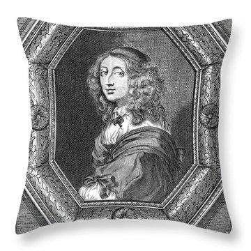 Christina (1626-1689) Throw Pillow by Granger
