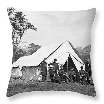 Civil War: Antietam, 1862 Throw Pillow by Granger