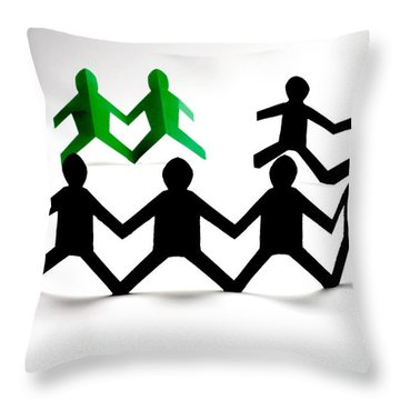 Conceptual Situation Throw Pillow by Photo Researchers, Inc.