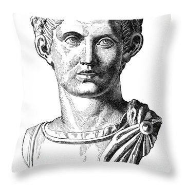 Constantine I (d. 337) Throw Pillow by Granger