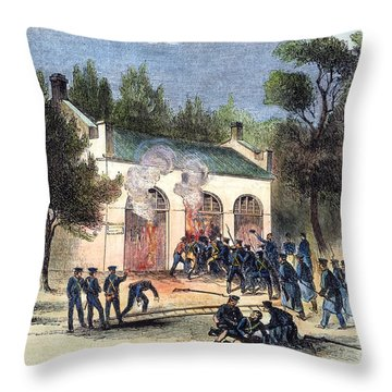 Harpers Ferry, 1859 Throw Pillow by Granger