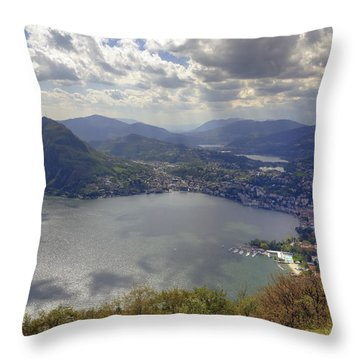 Lugano Throw Pillow by Joana Kruse