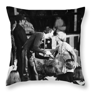 Olympic Games, 1976 Throw Pillow by Granger