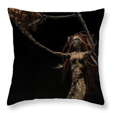 Seventh Year Prophecy Throw Pillow by Adam Long