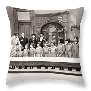 Silent Still: Children Throw Pillow by Granger