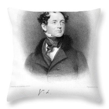 Thomas Moore (1779-1852) Throw Pillow by Granger