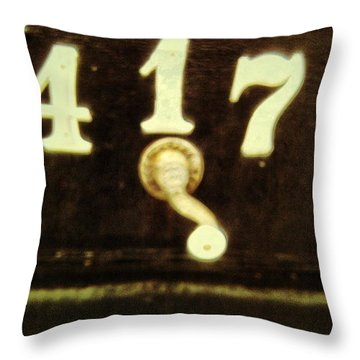 417 With A Twist Throw Pillow by Olivier Calas
