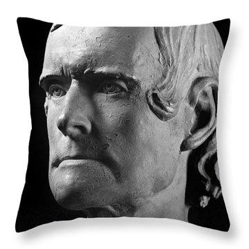 Thomas Jefferson (1743-1826) Throw Pillow by Granger