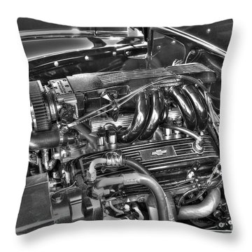 48 Chevy Block Throw Pillow