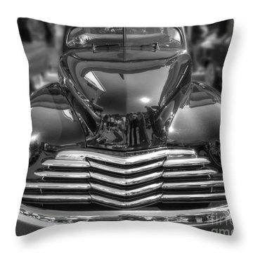 48 Chevy Convertible Throw Pillow