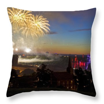 4th Of July Throw Pillow by Conor McLaughlin