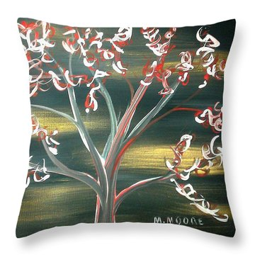 4th Of July Throw Pillow by Mark Moore
