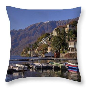 Ascona Throw Pillow by Joana Kruse