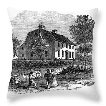 Benedict Arnold (1741-1801) Throw Pillow by Granger