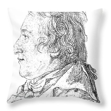 Claude-louis Berthollet, French Chemist Throw Pillow by Science Source