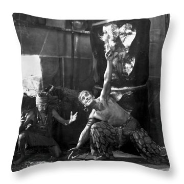 Douglas Fairbanks Throw Pillow by Granger