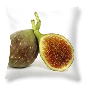 Figs Throw Pillow by Bernard Jaubert