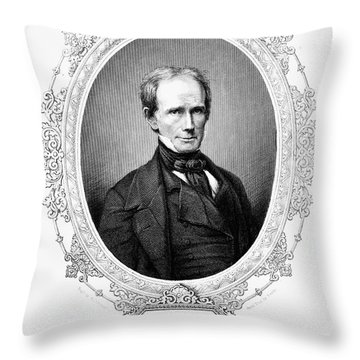 Henry Clay (1777-1852) Throw Pillow by Granger