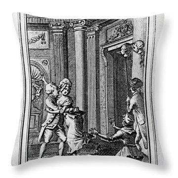 Louis Xvi (1754-1793) Throw Pillow by Granger