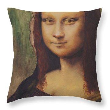 500 Years After Davinci Throw Pillow