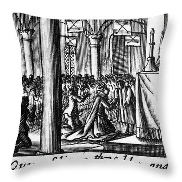Spanish Armada, 1588 Throw Pillow by Granger