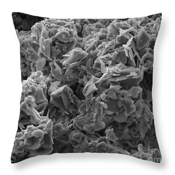 Crack Cocaine, Sem Throw Pillow by Ted Kinsman