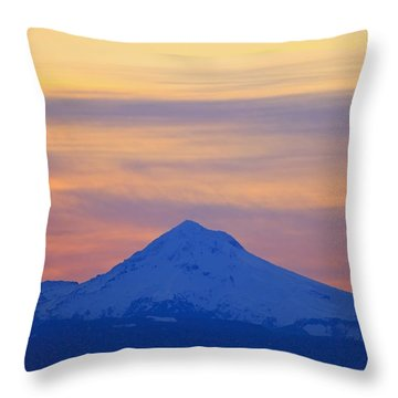 Oregon, United States Of America Throw Pillow by Craig Tuttle