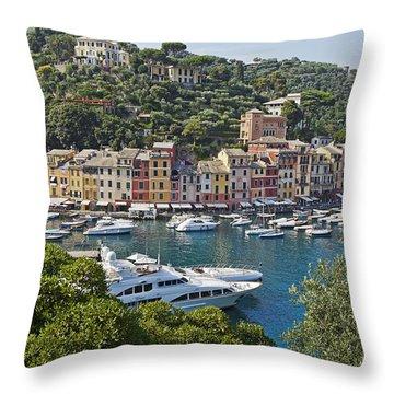 Portofino Throw Pillow by Joana Kruse