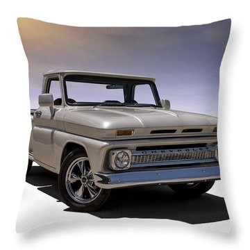 '66 Chevy Pickup Throw Pillow