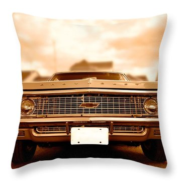 69 Impala Throw Pillow