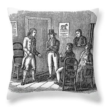 John Marshall (1755-1835) Throw Pillow by Granger
