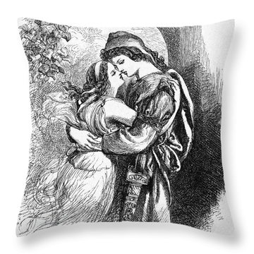 Troilus And Cressida Throw Pillow by Granger