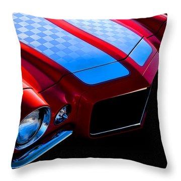 '71 Camaro Throw Pillow by Douglas Pittman